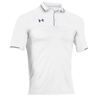 Under Armour Team Podium Polo - Men's - White / Purple