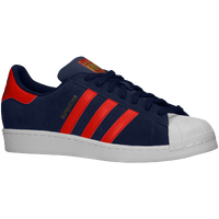 adidas Originals Superstar - Men's - Navy / Red