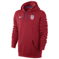Nike USA Hoodie - Men's - Red / Blue