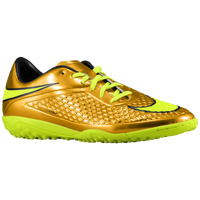 Nike Hypervenom Phelon TF - Men's - Gold / Light Green