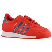 adidas Originals Samoa - Boys' Grade School - Red / Grey