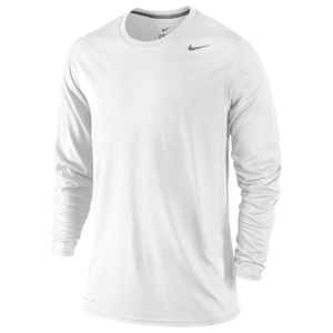Nike Legend Dri-FIT L/S T-Shirt - Men's - White