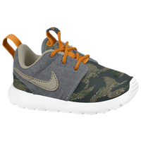 Nike Roshe Run - Boys' Toddler - Grey / Dark Green