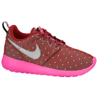 Nike Roshe Run - Girls' Grade School - Red / Pink