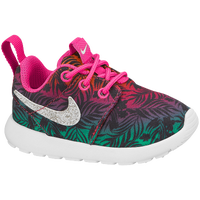 Nike Roshe Run - Girls' Toddler - Pink / Grey
