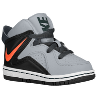 Nike Court Invader - Boys' Toddler - Grey / Orange