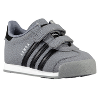 adidas Originals Samoa - Boys' Toddler - Grey / Black