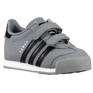 adidas Originals Samoa - Boys' Toddler - Grey/Black/White