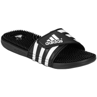 adidas Adissage Slide - Men's - Black / White