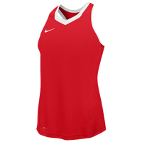 Nike Team Cutback Racerback Jersey - Women's - Red / White