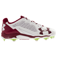 Under Armour Deception Low DT - Men's - White / Cardinal