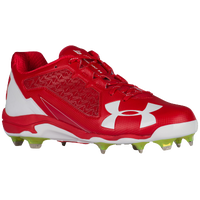 Under Armour Deception Low DT - Men's - Red / White