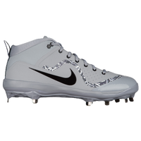 Nike Air Trout 4 Pro - Men's -  Mike Trout - Grey / Black