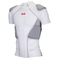 McDavid Rival Pro 5 Pad Short Sleeve Shirt - Men's - White / Grey