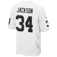Nike NFL Bo Knows Jersey - Men's - Bo Jackson - Oakland Raiders - White / Black
