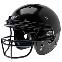 Schutt Team Recruit Hybrid Helmet - Boys' Grade School - All Black / Black