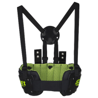 Schutt Team Rib Protector - Boys' Grade School - Black / Light Green