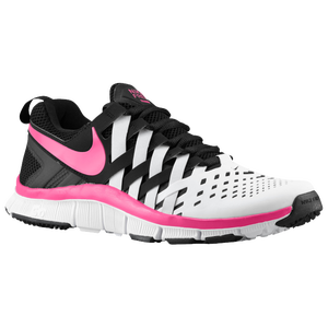 Nike Free Trainer 5.0 - Men's - Black/Vivid Pink/White