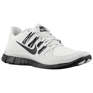 Nike Free 5.0+ - Men's - Pure Platinum/Black