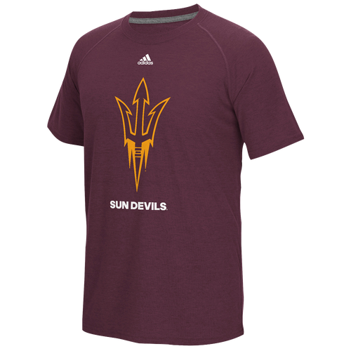Adidas college big logo performance t shirt men 39 s Arizona state golf shirts