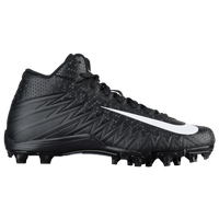 Nike Alpha Menace Varsity Mid - Men's - Black / White