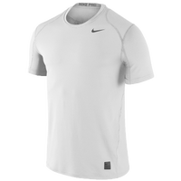 Nike Team Pro Cool Fitted Top - Men's - White / Grey