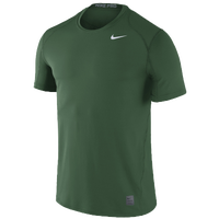 Nike Team Pro Cool Fitted Top - Men's - Dark Green / Dark Green