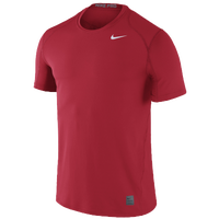 Nike Team Pro Cool Fitted Top - Men's - Red / Red
