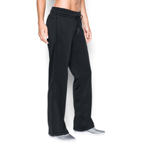 Under Armour Lightweight Storm Armour Fleece Pants - Women's - All Black / Black