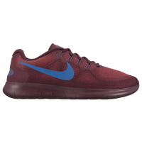 Nike Free RN 2017 - Men's - Maroon / Blue