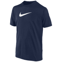 Nike Legend S/S T-Shirt - Boys' Grade School - Navy / White