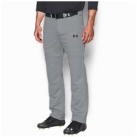 Under Armour Clean Up Open Bottom Pants - Men's - Grey / Grey