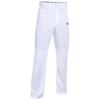 Under Armour Clean Up Piped Pants - Men's - White / Black