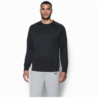 Under Armour Training Warm-Up Henley - Men's - All Black / Black