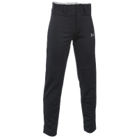 Under Armour Leadoff  III Open Bottom Pants - Boys' Grade School - All Black / Black