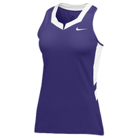Nike Team Untouchable Speed Jersey - Women's - Purple / White