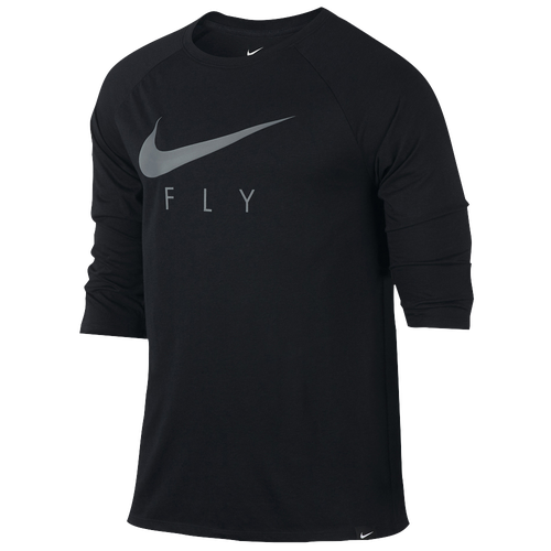 Nike Fly 3 4 Sleeve T Shirt Men 39 S Basketball