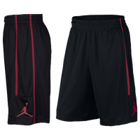 Jordan Double Crossover Shorts - Men's - Black / Red