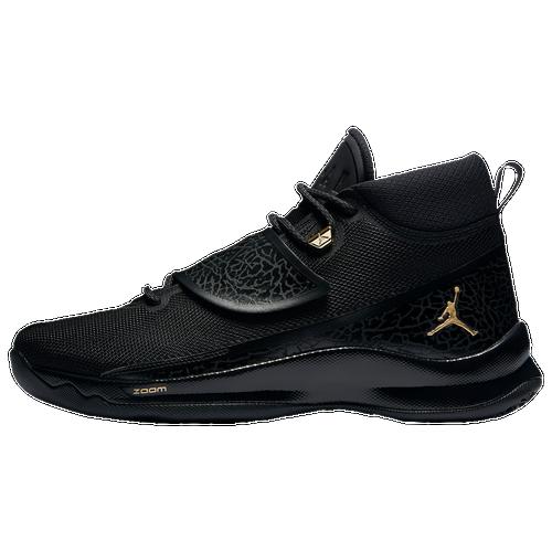 Jordan Super.Fly 5 PO - Men's - Basketball - Shoes - Black/Metallic ...