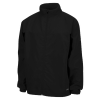 Eastbay Woven Team Running Jacket - Boys' Grade School - All Black / Black