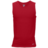 Eastbay Team Compression Track Singlet - Men's - Red / Red
