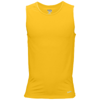 Eastbay Team Compression Track Singlet - Men's - Gold / Gold