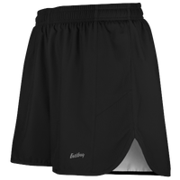 "Eastbay Team 2"" Solid Split Track Short 2.0 - Men's - All Black / Black"