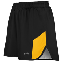 "Eastbay Team 2"" 2 Color Split Track Short 2.0 - Men's - Black / Gold"