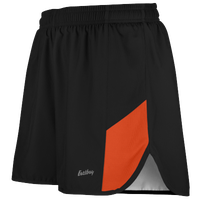 "Eastbay Team 2"" 2 Color Split Track Short 2.0 - Men's - Black / Orange"
