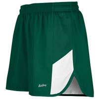 "Eastbay Team 2"" 2 Color Split Track Short 2.0 - Men's - Dark Green / White"