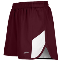 "Eastbay Team 2"" 2 Color Split Track Short 2.0 - Men's - Maroon / White"