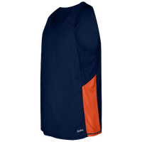 Eastbay Team Two Color Singlet - Men's - Navy / Orange