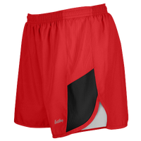 "Eastbay Team 2"" 2 Color Track Shorts - Women's - Red / Black"