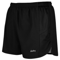 "Eastbay Team 2"" Solid Track Short 2 - Women's - All Black / Black"